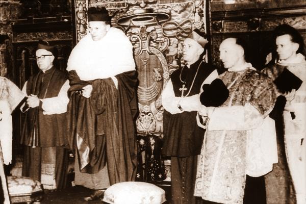 Ingres Abp. Karola Wojtyły do katedry wawelskiej