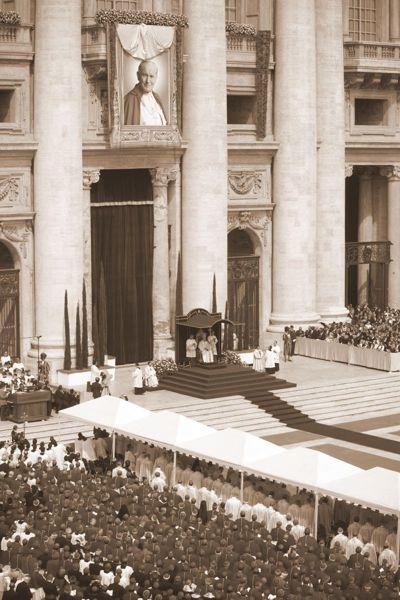 Msza beatyfikacyjna Jana Pawła II. Fot. Kancelaria Prezydenta RP