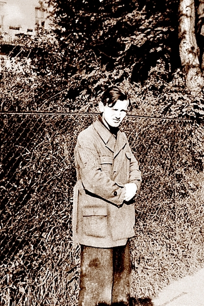 Karol Wojtyła w drodze do fabryki