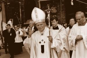 Jan Paweł II - czwarta wizyta w Ojczyźnie, fot. Polska Agencja Informacyjna