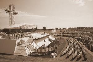 Ekumeniczna Msza św. celebrowana przez Ojca Świętego Jana Pawła II w Siedlcach 10 czerwca 1999 roku.