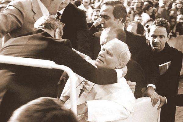 Zamach na papieża Jana Pawła II, Plac Świetego Piotra, 13 maja 1981 roku